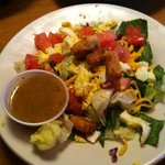  House Salad with Italian Dressing