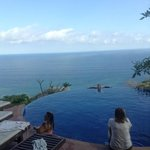  the infinity pool with its breath-taking view