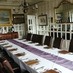 Dining room for private parties