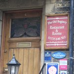 The Old Registry front entrance, Haworth