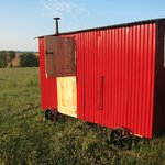 Shepherds Hut at Stockbatch Granary