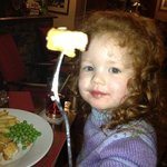 Ava loved the Mill Inns chips!