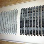  The vent in our bathroom.