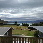  View from outdoor living area, looking towards Lake Tekapo