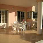 This is only one half of the patio we had - very spacious
