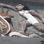  Section of Rivera Mural on Olympic Stadium