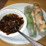 spring rolls - shrimp/pork