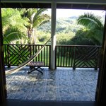  View from the verandah of Harpy Eagle Cabana