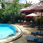 Our pool is the best place to relax.....with a drink or snack from Kopi on Bisma