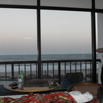 Oceanview while lying in bed