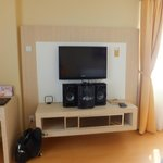 Entertainment corner... LCD TV & good hi-fi system