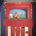  An early Punch &amp; Judy show
