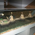  Model of the old chain pier built in 1823 &amp; destroyed by a storm in 1896