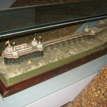 Model of the West pier