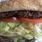 ¼ lb. Hamburger Steak Junior Sandwich