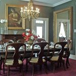 A gourmet breakfast is served from the Violet Hill Dining room