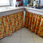 kitchen with curtains!?