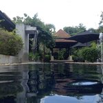Lovely pool surrounding all villas