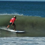  Surfing at Playa Hermosa, right in front!