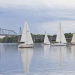 Tuesday evening sail boat races
