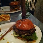 the burger from hell... big and yummy