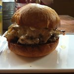 Apocalypse Now Burger - A tatsy, greasy, sloppy treat!