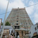  Srirangam temple