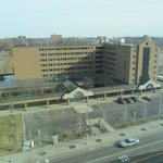  view at front of guest house facing euclid and shot from cleveland clinic main hospital