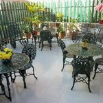  La Terraza or Terrace - relax enjoy meals and company of others from many countries.