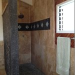 Lava Rock Shower