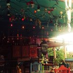  lightchains at bar area