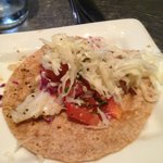  Grilled halibut taco