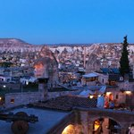 View of Goreme from Sultan Suites