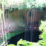  Cenote we visited before Chichen Itza