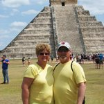  Gina &amp; Keith at Chichen Itza