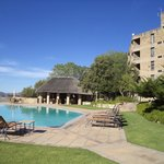  Lesotho Sun pool area