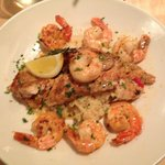 Red Snapper Special with Shrimp