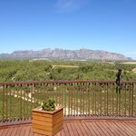  View from Breakfast terrace towards Montserrat