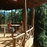 Porch of Jungle Villa