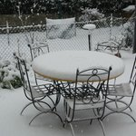  Il giardino sotto la neve