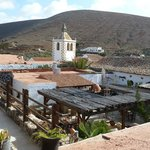  View over the Princess Arminda, showing open courtyard from above, Church in background