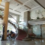  Stair up to somewhere at Regal Pacific Santiago Hotel