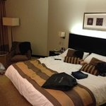 Our spacious room at the Traders hotel, Dubai