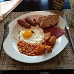  A fry up at the Traders hotel, Dubai