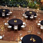 Banquet Tables from Above