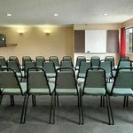  1 meeting room with a capacity of 40.  23 1/2 X 23 1/2