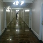  newly renovated hallway