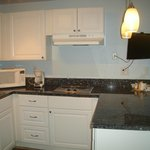 Newly remodeled Garden Suite Kitchen