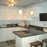  Newly remodeled Garden Suite Kitchen 2013