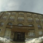  The hotel (wide angle lens)